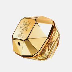 Najlepsze produkty - Paco Rabanne Lady Million Absolutely Gold (W) edp - Perfumesco. Paco Rabanne Lady Million, Perfume, Parfum Spray, Shower Gel, I Love Fashion, Raspberry, Gold, Women, Fragrances