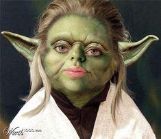 #starwars : Scarlett Yodansson