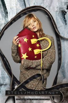 Shop The Fall Ads — Before They Sell Out #refinery29  http://www.refinery29.com/shop-fall-fashion-campaigns#slide10  Stella McCartney  Clutch it, Kate, and never let go.
