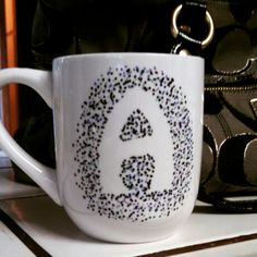 Sharpie dot mug...