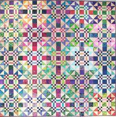 Duck Duck Goose Quilt Pattern FHD-102 (Crib, Lap/Twin, Queen, King, Beginner)