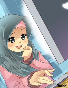 Girl hijab by saurukent.deviantart.com on @deviantART