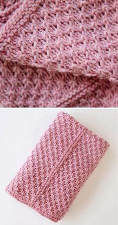 Free Knitting Pattern for 4 Row Repeat Drops of Love Baby Blanket - Knit with a 4 row repeat using passed over stitches to create the texture on every other row. Quick knit in bulky yarn. Designed by Leelee Knits