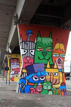 Beyond Banksy Project / Chivitz & Minhau - São Paulo, Brazil