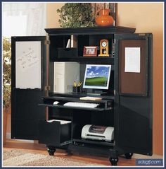 Modern Multifunctional Armoire Computer Desk Furniture With Storage - http://sdsgfj.com/modern-multifunctional-armoire-computer-desk-furniture-with-storage/