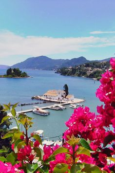 Amazing view of Corfu Island, Greece, from Iryna Beautiful Places In The World, Places Around The World, Wonderful Places, Beautiful Islands, Beautiful Beaches, Dream Vacations, Vacation Spots, Santorini Holidays, Places To Travel