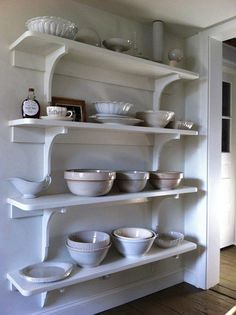 Wonderful Open Shelves + A Movie Tonight | Content in a Cottage