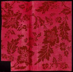 Fleurs, feuilles - référence n° 111 | Centre de documentation des musées - Les Arts Décoratifs