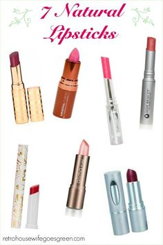 7 Natural Lipsticks