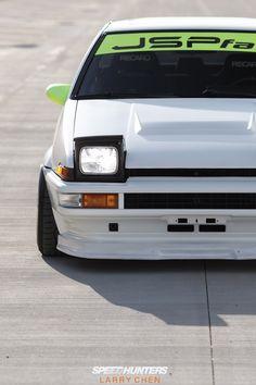 camber:  Toyota Corolla AE86 @ SpeedHunters.