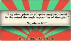For free law of attraction lessons, inspiration and motivation, visit the best LOA website: www.attractionlawsecret.com Good Motivation, Law Of Attraction Quotes, Mindfulness, Thoughts, How To Plan, Website, Free, Inspiration, Biblical Inspiration