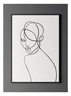 Male Face Drawing, Guy Drawing, Simple Line Drawings, Silhouette Painting, Metal Pen, Back Art, Black Abstract, Woman Painting, Simple Lines