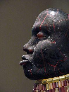 William Morris - Turkana Woman (Man Adorned series) (by BayerNYC)