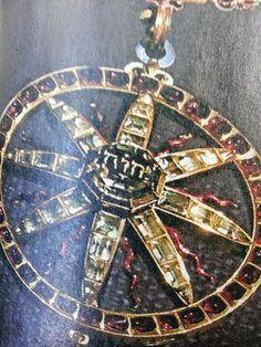 tdg-archivio: Catena ed Emblema dell'Ordine Reale di Geova del 1606, fatta d'oro, smalto, cristallo di rocca e granati.Fu Carlo IX, re di Svezia, a istituire l'Ordine Reale di Geova. Il giorno dell'incoronazione, nel 1607, Carlo indossò una collana chiamata la catena di Geova.Questo re fu uno dei sovrani di Svezia che, dal 1560 al 1697, diedero risalto al nome di Dio usandolo in caratteri latini o ebraici su monete e medaglie o nel proprio motto. Altri sovrani che diedero risalto al nome…