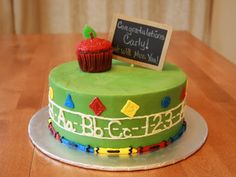 Party Cakes: Back to School Cake