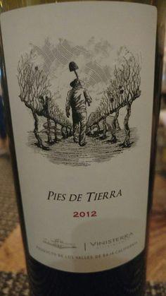 Uno de los buenos vinos mexicanos.