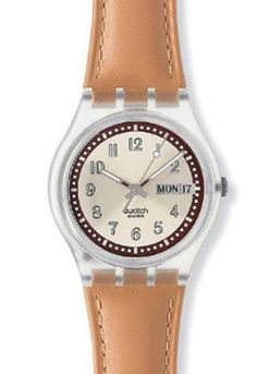 Croissant Chaud Swatch watch from 2003