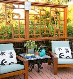 Garten Sichtschutz Rattan Mobel Balkon Dekor Pinterest