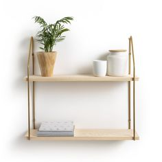 Vinto Double Wall Shelf in Pine & Metal LA REDOUTE INTERIEURS Vinto wood and metal double wall shelf. Sturdy and stylish, these versatile pine and metal shelves are the perfect place to store your most prized. Wood, Pine Shelves, Wall Cabinet, Wood And Metal, Wall, Metal Walls, Home Furniture, Metal Shelves, Metal Wall Shelves