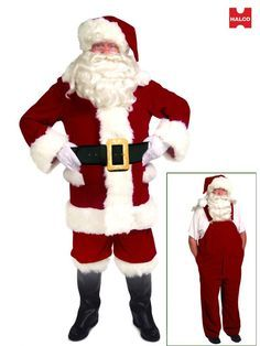 6bc8f5342 30 Best Santa Costume and Makeup Ideas images