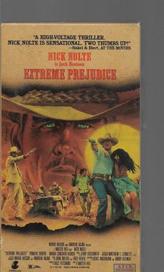 Extreme Prejudice VHS Nick Nolte, Powers Boothe