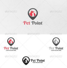 Pet Point - Logo Template