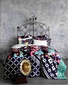 Bedding from Anthropologie