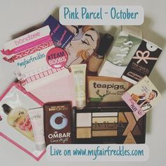 October's #pinkparcel review is live