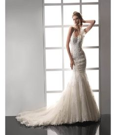 Mermaid Style Wedding Dresses | Women Dress Ideas