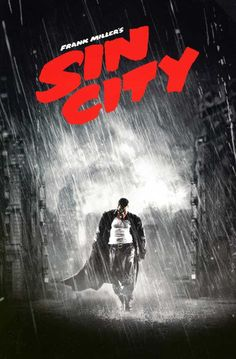 Sin City poster, t-shirt, mouse pad Tv Movie, Comic Movies, Frank Miller, Logo Coca, Sin City Movie, Rock Poster, Bd Comics, Cult Movies, Los Angeles