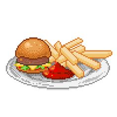 food pixel art - Google Search
