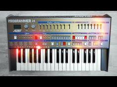 Solton Ketron Programmer 24 - Synthesizer - Italo Disco Machine (1985) s...