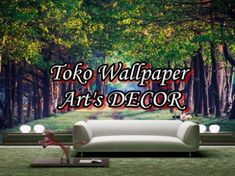 wallpaper dinding 3d murah