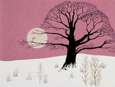 Setting Sun by Eyvind Earle