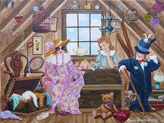 An Evening in the Attic by Maria Laura Bratoz