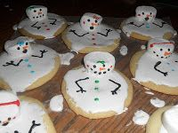 Fun Melted Snowman cookies!