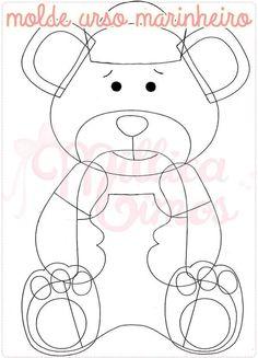Teady Bear, Bear Felt, Felt Patterns, General Crafts, Felt Animals, Softies, Felt Crafts, Hello Kitty, Sewing Projects