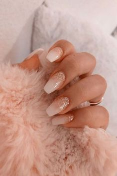 40 Latest Acrylic Nail Designs for Summer 2019 # Acrylic Nail … – Acrylnagel 43 Different Ways to Wear Nude Nails This Year Nude and Marble Nail Art Design Summer Acrylic Nails, Best Acrylic Nails, Summer Nails, Acrylic Nails Glitter, Nail Art Rhinestones, Pink Summer, Summer Diy, Summer Beach, Pink Nail Designs
