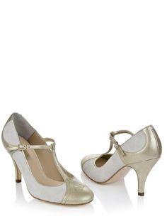 Emily Round-Toe Wedding Shoes