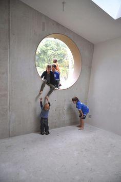 interior Dutch underground home