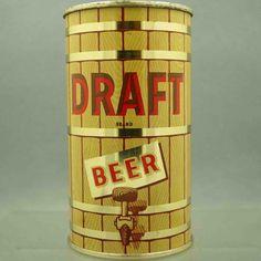 Draft 54-29 flat top beercan