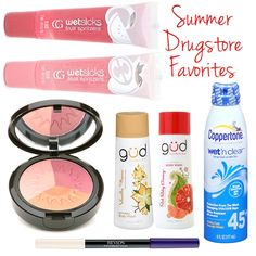 favorite summer beauty finds from the drugstore #makeup