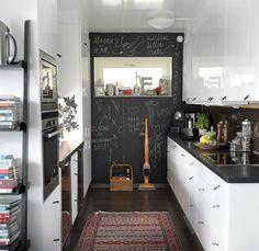 kitchen  黒板!