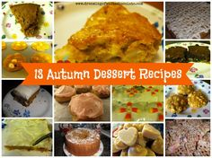 13 Autumn Dessert Recipes