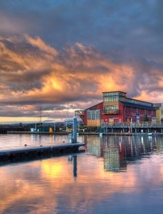 Sunset - Maritime Center, Port Townsend, Washington