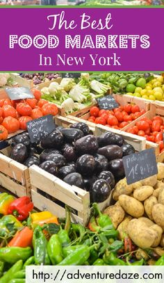 From fried ravioli in the Bronx to gourmet popsicles in Brooklyn, NYC's food markets boast some of the freshest, highest quality dishes in the city. Find out more here!