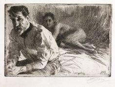 Anders Zorn - Augustus Saint-Gaudens - 1897
