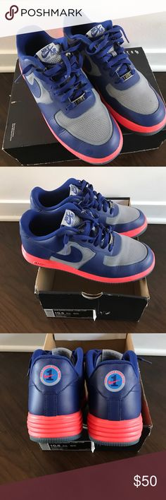 Nike Lunar Force size 10/5 Nike lunar force size 10/5 in great condition and additional white laces in box no lid Nike Shoes Athletic Shoes