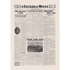 Esta foi a primeira edição do jornal Estado de Minas. Fundado em 7 de março de 1928, o Estado de Minas é um dos veículos do grupo Diários Associados. O periódico é o principal jornal de Minas Gerais, que vem ao longo de quase nove décadas narrando a história do estado. Crédito: Arquivo EM/D.A Press #jornal #estadodeminas #acervo #diáriosassociados #memória