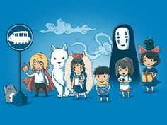 Excellent mash up of Miyazaki films! Great for somebody who can't choose his favorite Ghibli film!